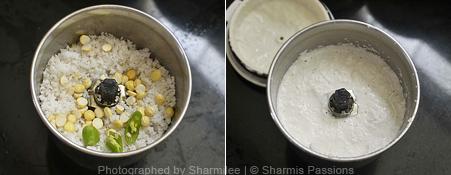 How to make coconut chutney - Step1