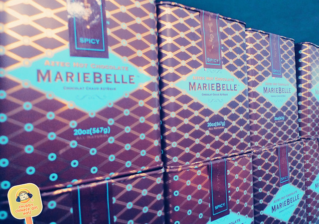 Mariebelle NY - chocolat shop tin cans