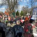 Save Lewisham Hospital: the crowd on February 15, 2013