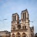 tilted Notre-Dame by mouzhik