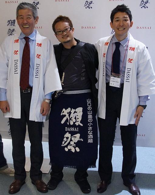桜井社長と3人