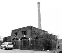 Incinerator, Former Jefferson Davis Hospital, Houston, Texas 1302101347BW