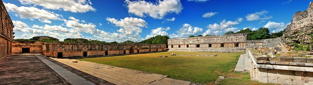 Uxmal MEX - Nunnery Quadrangle 01