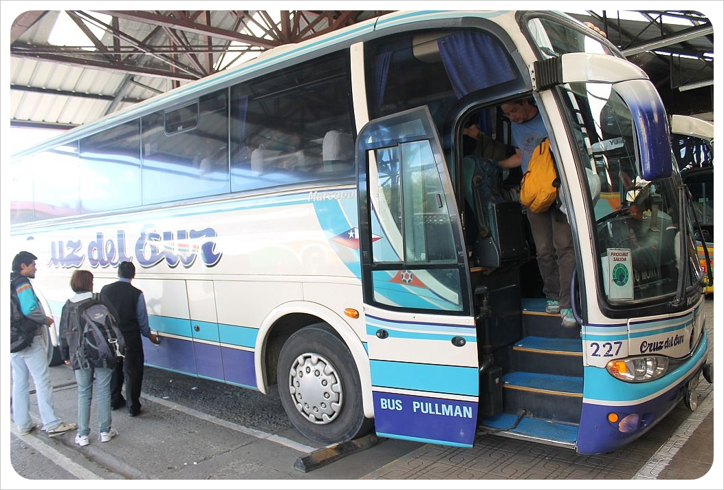 chile bus