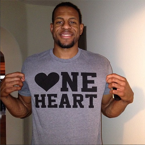 Andre Iguodala - One Heart Shirt