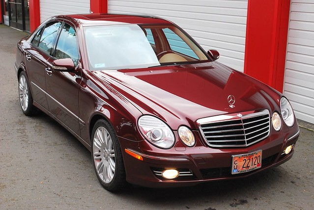 2008 mercedes benz e350 in barolo red metallic pgt3012b for Mercedes benz e 350 2008