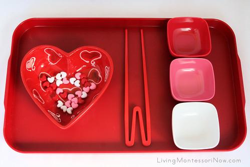Valentine Transfer Using Quick Sticks