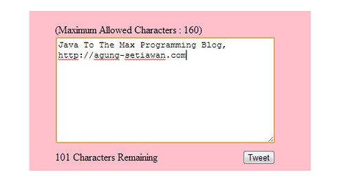 Count Remaining Character Using Jquery