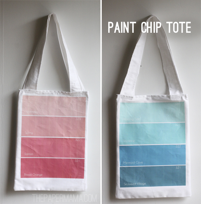 Paint Chip Tote