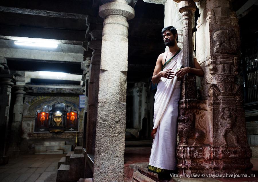 Priest, Karnataka, India
