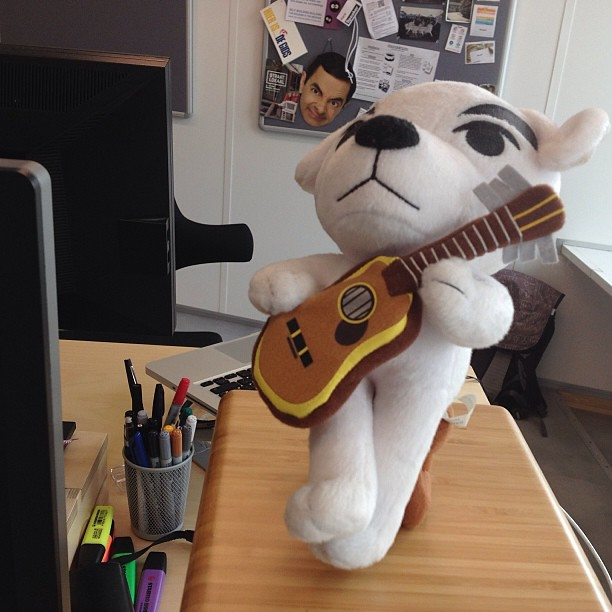 K.K. Slider has joined us in the studio