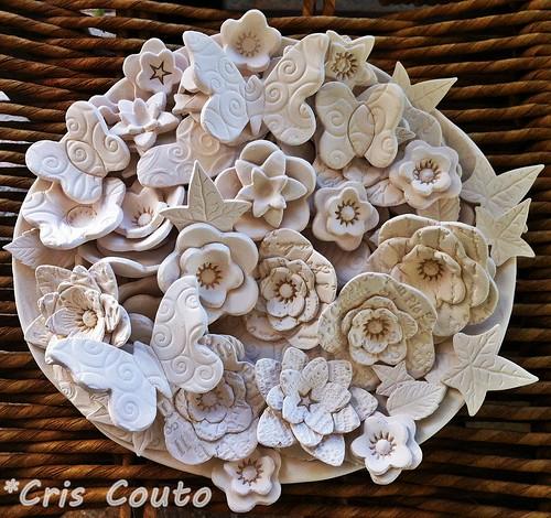 Flores de porcelana by cris couto 73