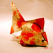 yokin goldfish(red gilding) by linny young origami