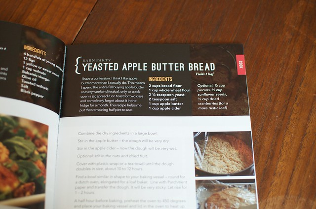 yeasted apple butter bread