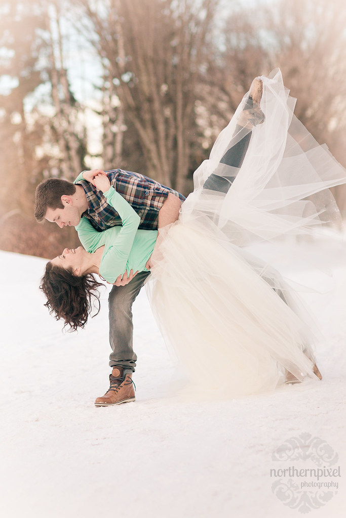 Winter Ballet Engagement Session