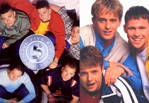 5IVE and 911 - British Boy Bands we loved in the 90's!