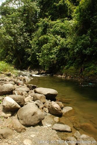 Cabcaben River at Brooke's Point, Palawan