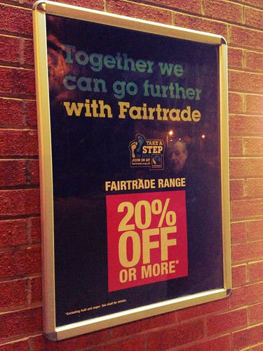 Fairtrade poster Co-op