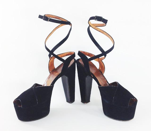 vintage platform shoe spring metallic vintage style blog my fair vanity 6