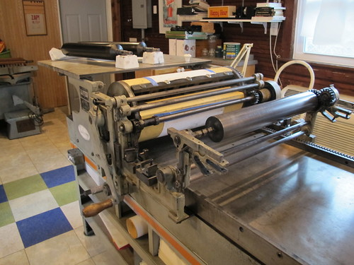 Letterpressing in Bowling Green