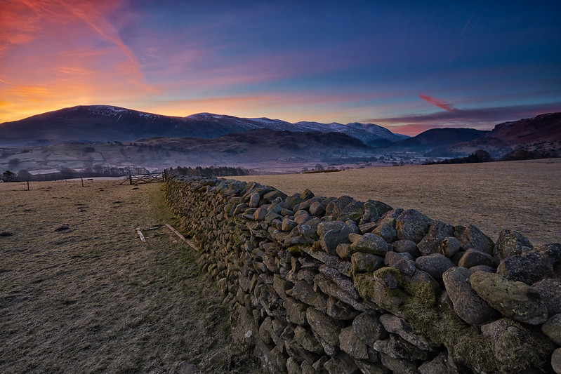 Sunrise Over High Rigg