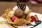 ice cream basket