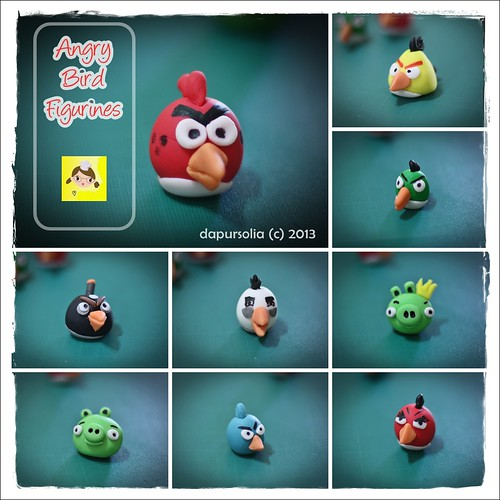 Angry Bird Figurines