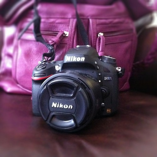 I upgraded my #Nikon #D90 to a full frame #D600 camera. Thanks GE for giving my husband a nice bonus!!! by The Shutterbug Eye™