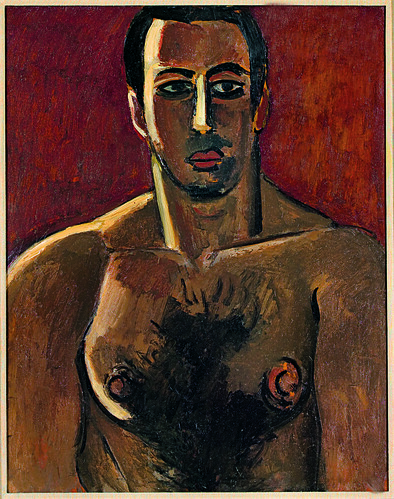 Madawaska, Acadian Light-Heavy, Third Arrangement, 1940 by Marsden Hartley