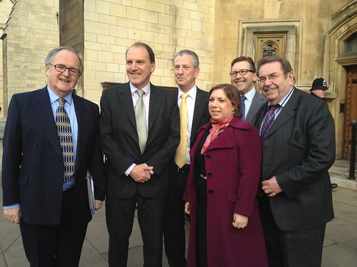 By-election winning Lib Dems Alan Beith, Simon Hughes, Mike Thornton, Sarah Teather, Mark Hunter and David Chidgey