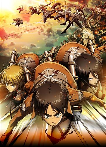 130309(1) – 電視動畫版《進撃的巨人》鎖定4月隆重開播、追加四位配角聲優、最新海報一同出爐!