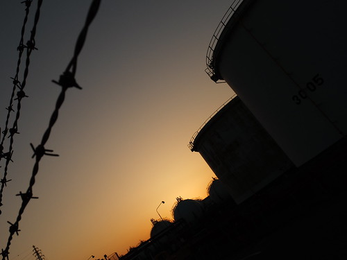 Kawasaki Factory dusk scene 05