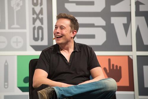 Elon Musk Laughing @ SXSW 2013