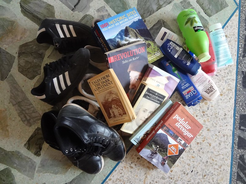 Coisas que não deve levar na mala de viagem