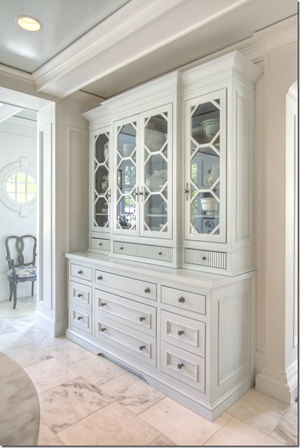 Built In China Hutch