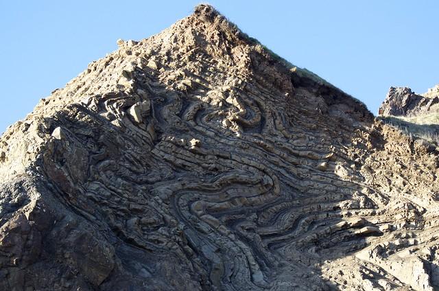 Extreme geologic deformation