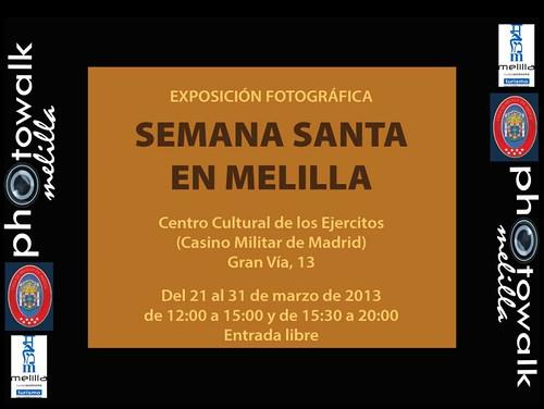 Semana Santa en Melilla - Exposición Fotográfica - Centro Cultural de los Ejércitos - Casino Militar de Madrid - Gran Vía 13 Madrid (2)