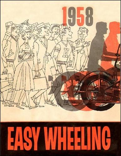 1958 Harley Easy Rider by bullittmcqueen