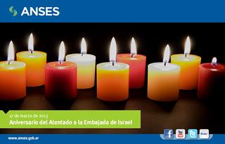 17 de marzo. Aniversario del Atentado a la Embajada de Israel
