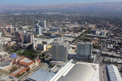 Downtown San Jose Aerial