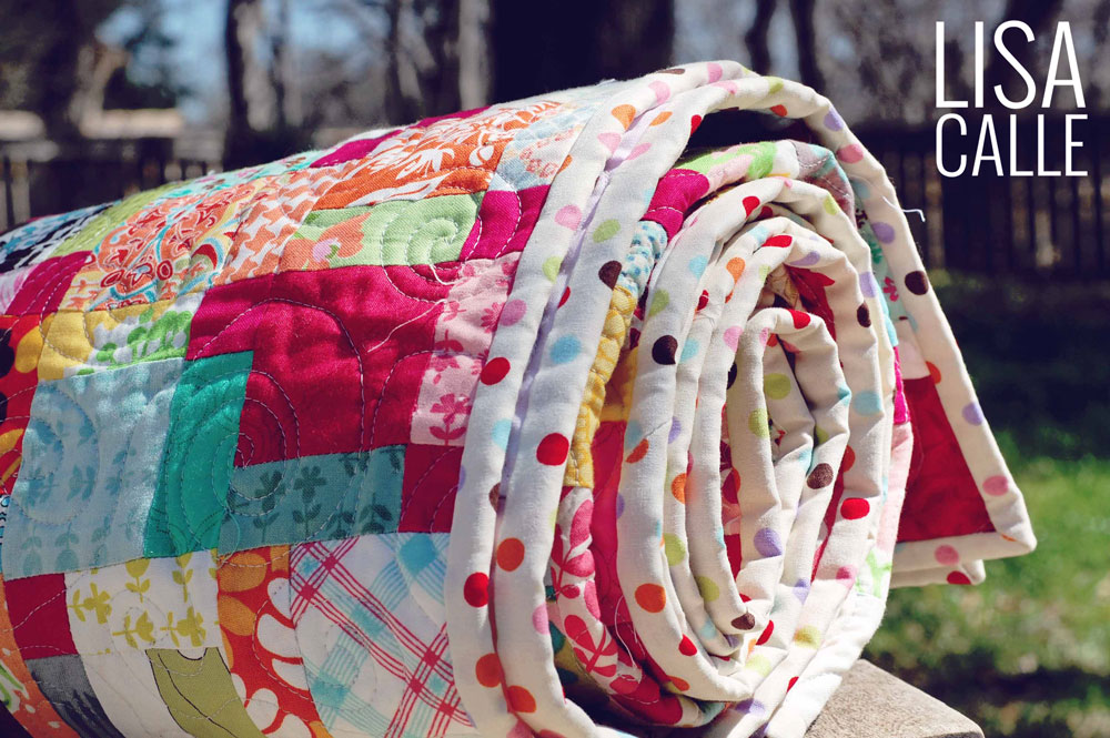 Cotton Candy Quilt | Binding