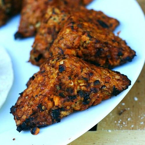 African Volcano Grilled Tempeh