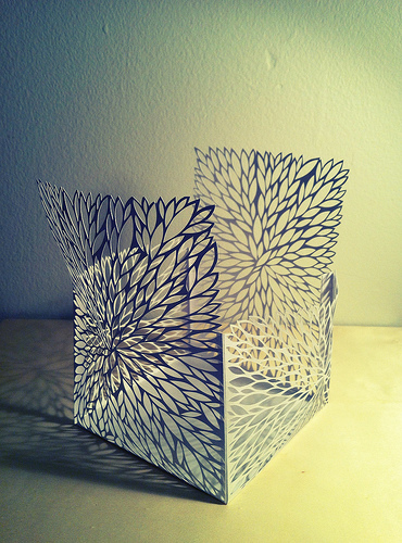 cut-paper-structure-leaves