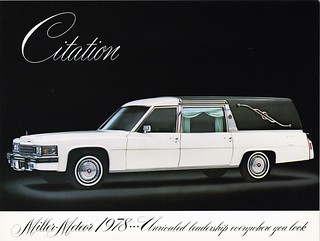 1978 Cadillac Citation Funeral Coach by Miller-Meteor
