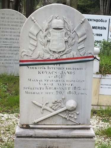 Feriköy temető - Kovács János vadász altiszt sírja