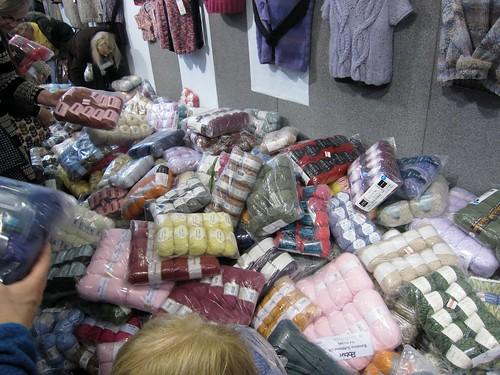 Yarn pile!