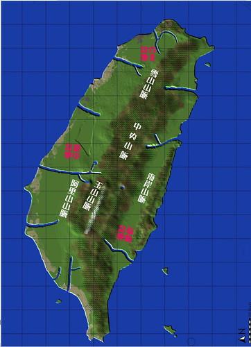 WorldPainter 台灣地圖檔