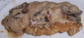 Mushroom Chicken leftovers
