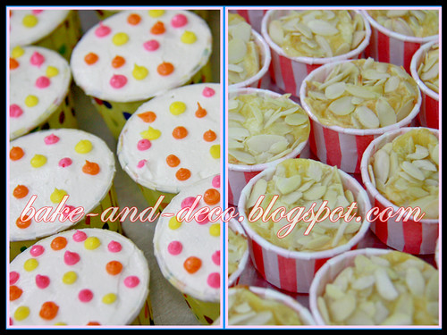 Baking & Deco Class: Variety Cupcakes ~ 5 August 2012