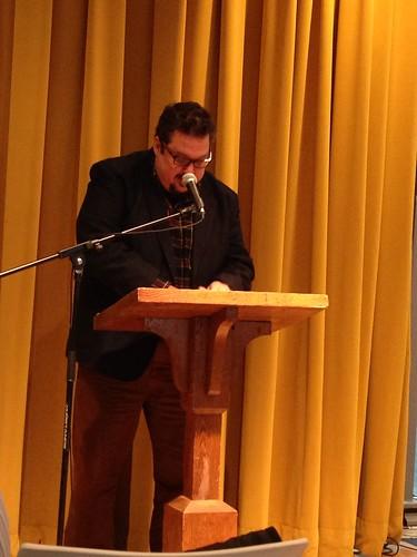 Dan Vera reading